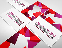 Mixed Business Card Mock-up
