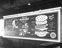 Artisanal Burger Mural