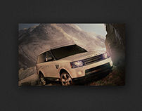 Land Rover // Retouching
