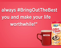 """Nestle CoffeeMate """"Bring Out The Best"""" Animated Video"""