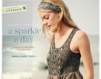 Anthropologie Marketing Emails - Summer 2014