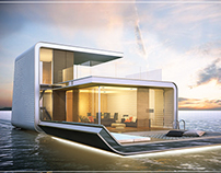Floating VIllas, World Islands, Dubai