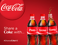 Share a Coke - Central, East and West Africa