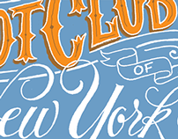 The Hot Club of New York cover design