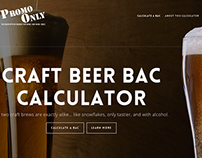 Craft Beer BAC Calculator