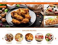 Allrecipes.com - concept redesign free download