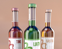 Four Leaf Spirits Label Packing