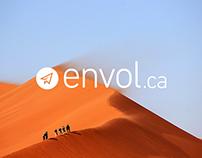 Envol.ca, site d'achats de billets d'avion