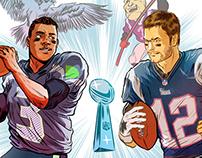 Illustrated Football Stories