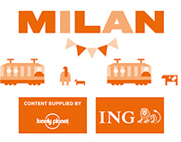 Milan Map for Schiphol Amsterdam Airport / ING direct