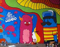 """Mural """"Los niños son la esperanza del mundo"""""""