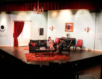 The Misanthrope Scenery- 4/11, Jewell Theatre Company