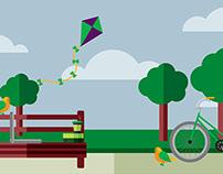 EMR campaign illustrations