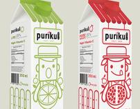 PURIKU [ Juice Packaging Design ] : work student