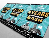 B-day Bash poster