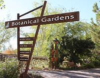 Botanical Gardens Entry Sign