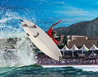 Billabong Rio Pro 2014 • Illustration