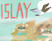 Islay Whisky Map