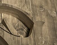Transparent Hands - Wooden Style Logo