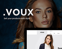 .VOUX E-commerce PSD