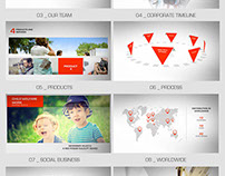 After Effects Project Files Clean Corporate VideoHive