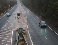 UK road network photography commission