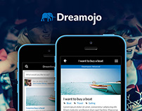 Dreamojo mobile website