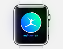 My Fitness Pal Apple Watch Concept - WIP