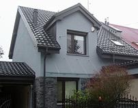 Façade insulation project & driveway design