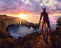 Oregon Coast Mountain Biker