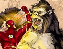 The Flash vs. Gorilla Grodd