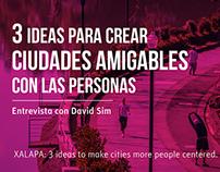 3 ideas para crear ciudades más amigables