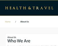 Health & Travel Web Design
