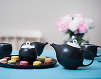 EVA tea ware collection