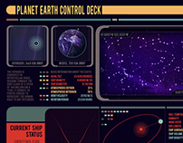 An animated dashboard for planet Earth