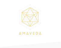 AMAVEDA - Logo | Indentity | Web Design + Build
