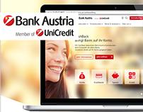 Screendesign | Onlineselling | Bankaustria