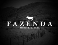 Fazenda website design