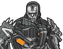 Transformers 4 Character Art