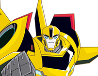 Transformers Robots in Disguise Character Art