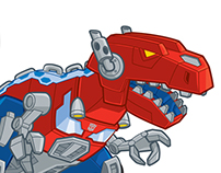 Transformers Rescue Bots Character Art