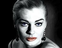Anita Ekberg Large Size Portrait