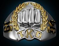Champion Ring - Martial Arts