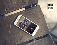 Hosoren - 10 Free Photorealistic iPhone 6 PSD Mockups