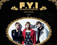 F.Y.I ON STAGE - LUNAFLY in Indonesia & Malaysia