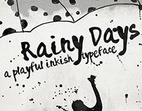 Rainy Days - a Playful typeface