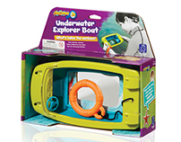 The GeoSafari Underwater Explorer Boat allows kids to v