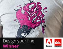 Adobe | Quiksilver - Design Your Line