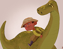 Imaginary Dinosaur