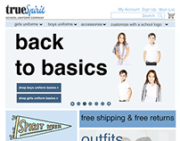 True Spirit (E-Commerce Site Case Study)
